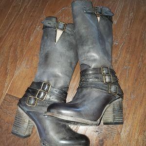 "Freebird by Steven dark grey boots ""Harrison"""